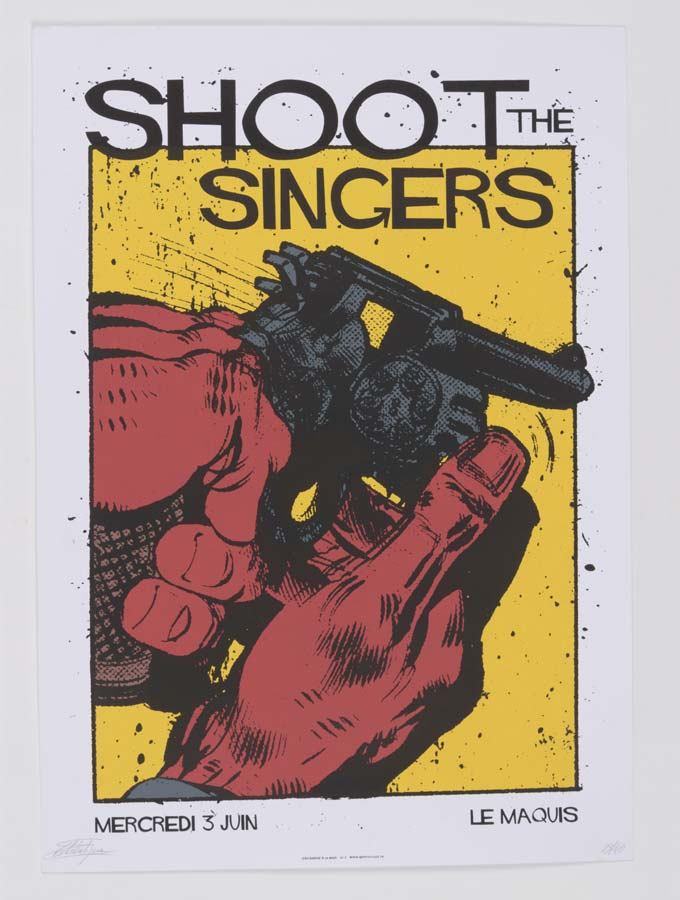 affiche-serigraphie-concert-collector-tank-atelier
