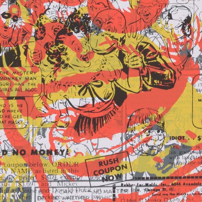 serigraphie poster art détail
