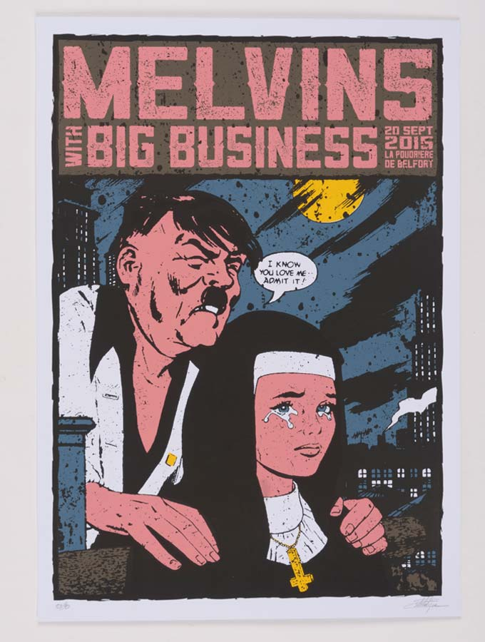 Melvins poster tour