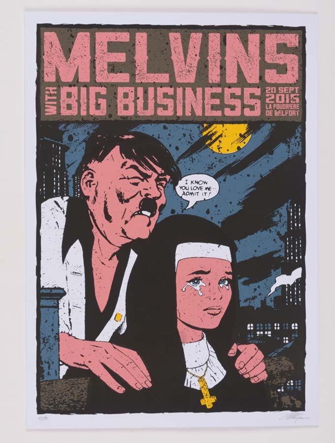 Melvins poster tour