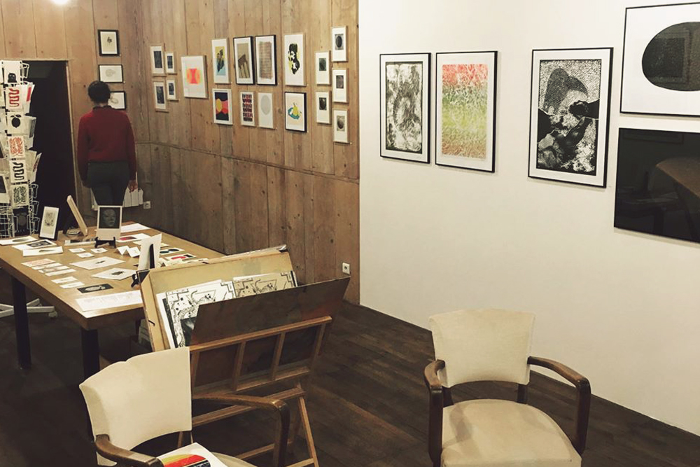 exposition d'estampes art imprimé