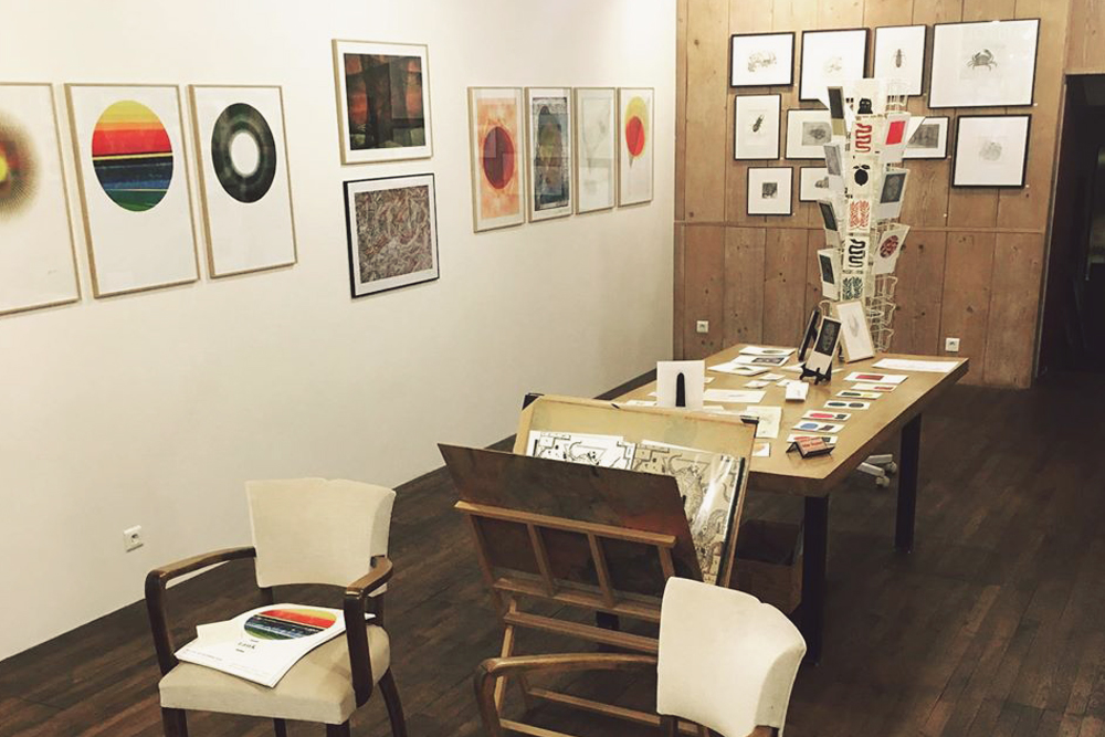 galerie serigraphie gravure atelier